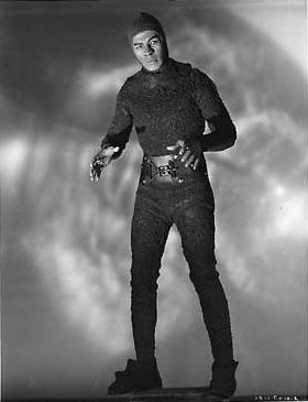 Leonard nimoy as narad zombies of the stratosphere 1952