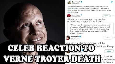 Celebrities Reaction To Verne Troyer Death