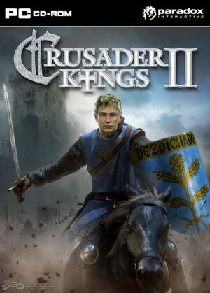 Crusader kings II 2 PC paradox interactive box