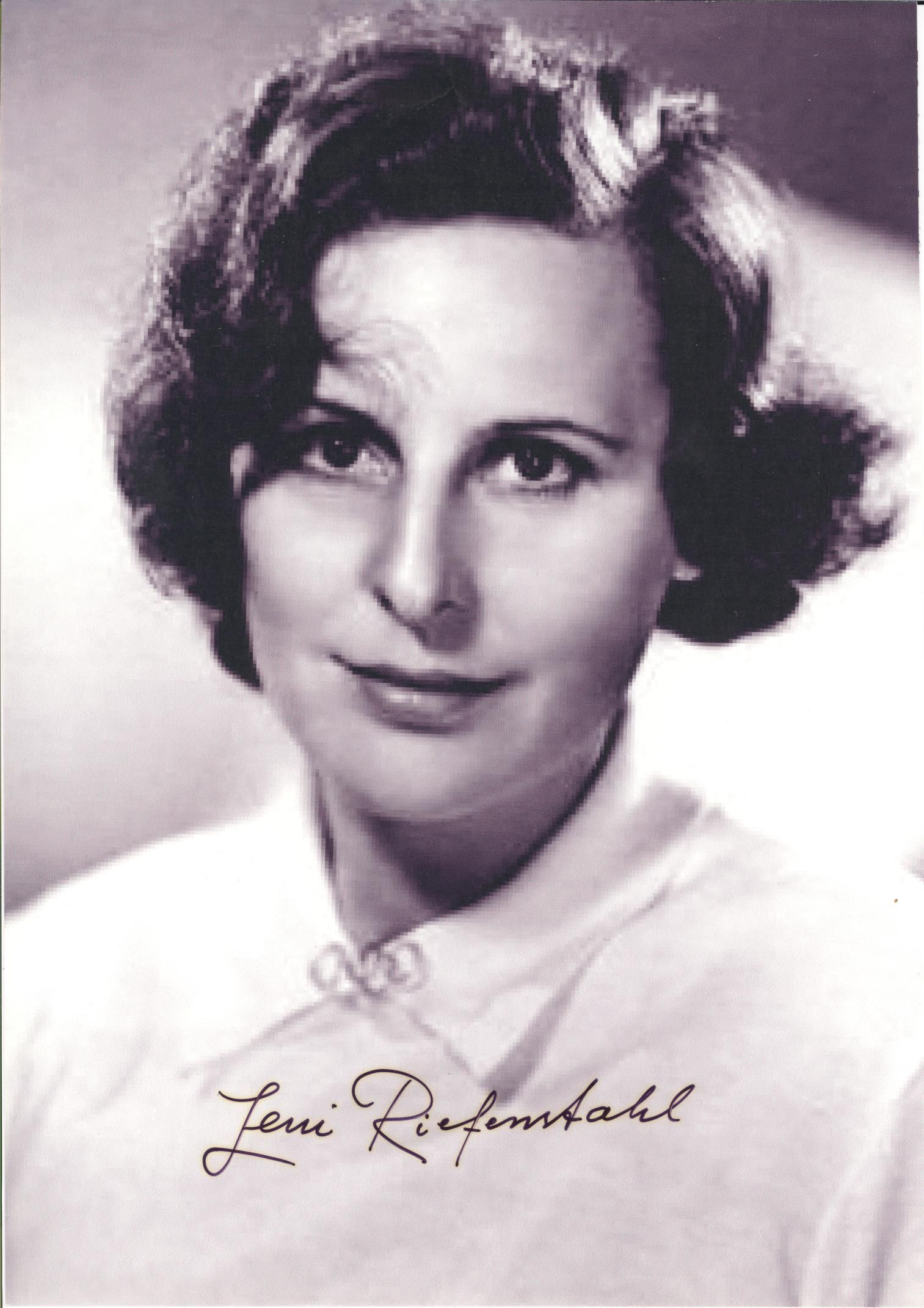 "Helene Bertha Amalie ""Leni"" Riefenstahl 
