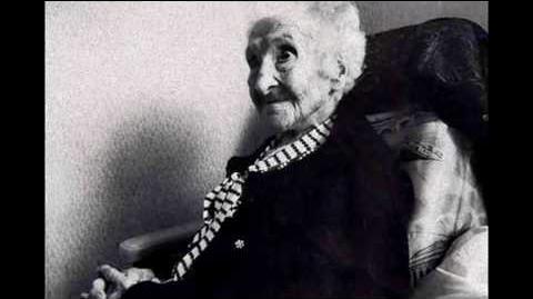 Jeanne Calment - timeline of the oldest human ever