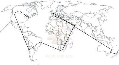 World map - black & white l (1)