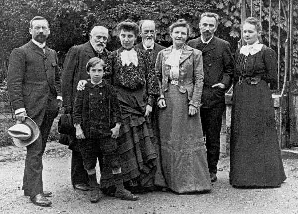 Curie family nobel prizes