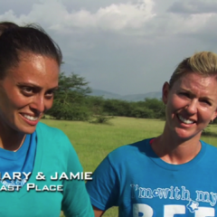 Nary & Jamie were eliminated from the race in 6th Place.