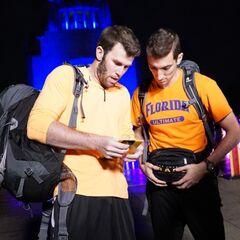 Brodie & Kurt reading the <a href=