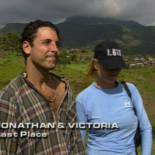 Jonathan & Victoria were eliminated from the race in 6th Place.