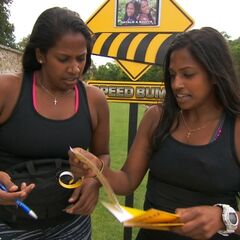 Natalie &amp; Nadiya reading their <a href=