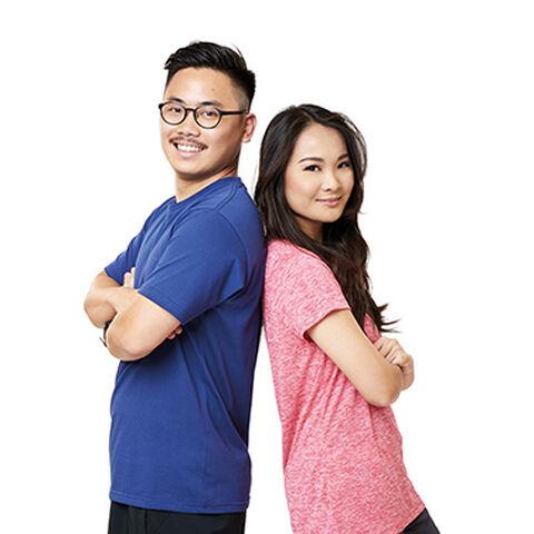 Rei & Keiji's alternate promotional photo for <i>The Amazing Race Asia</i>.