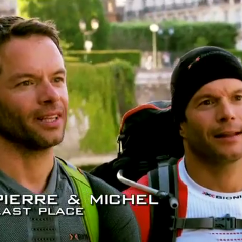 Pierre & Michel were eliminated from the race in 6th place.