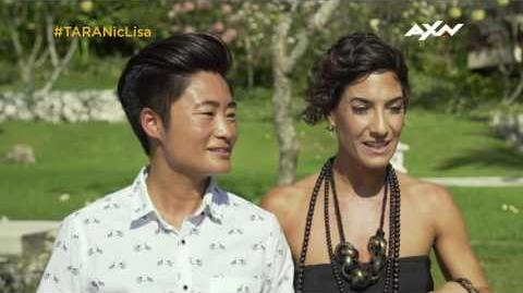 The Amazing Race Asia 5 - Racers' Throwback Nic & Lisa