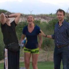 Kelsey & Joey win <i>The Amazing Race 27</i>.