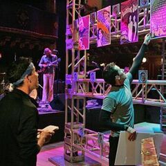 Dan & Jordan doing the final task at the Great American Music Hall.