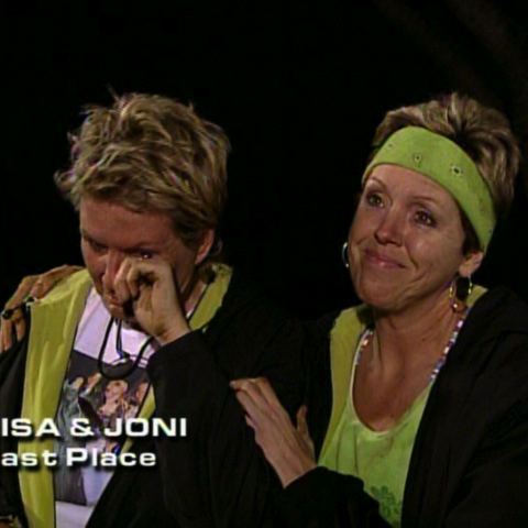 Lisa & Joni were eliminated from the race in 10th place.