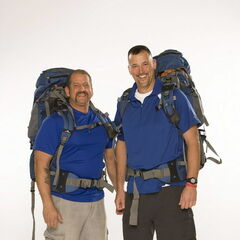 Louie & Michael's alternate promotional photo for <i>The Amazing Race</i>.
