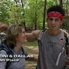Toni & Dallas finish 2nd on Leg 5.