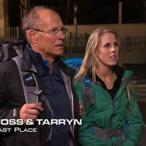 Ross & Tarryn were eliminated from the race in 8th place.