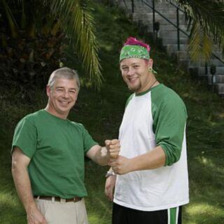 An Alternate promotional photo of Gary & Matt for <i>The Amazing Race</i>.