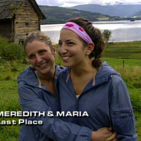 Meredith & Maria were eliminated from the race in 10th place.