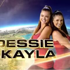 Dessie & Kayla in the Opening Credits.
