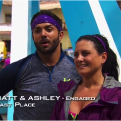 Matt & Ashley were eliminated from the race in 5th Place.