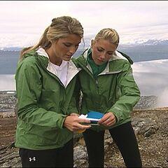 Katie &amp; Rachel reading a <a href=
