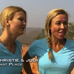 Christie & Jodi were eliminated from the race in 7th place.
