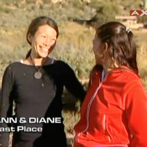 Diane & Ann were eliminated from the race in 4th place.