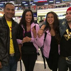 Kaylani & Lisa at the Los Angeles International Airport in the <a href=