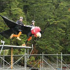 Steve & Allie doing the <i>Condor Consternation</i> <a href=