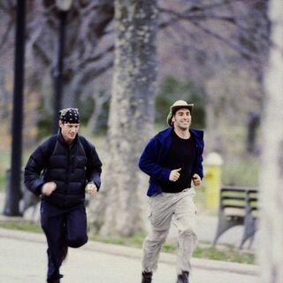 Rob & Brennan running to the <a href=