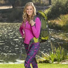 Laura's Individual photo for <i>The Amazing Race</i>.