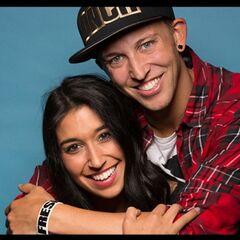 An alternate photo of Dana & Matt for <i>The Amazing Race</i>.