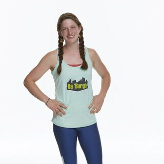 Becca's full body photo for <i>The Amazing Race</i>.
