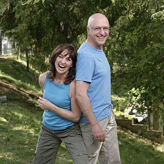 An alternate promotional photo of Marcy & Ron for <i>The Amazing Race</i>.