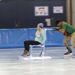 Hayley &amp; Blair doing the <i>Chair</i> <a href=