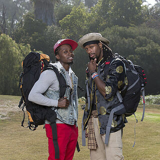 An alternate promotional photo of Ernest & Jin for <i>The Amazing Race</i>.