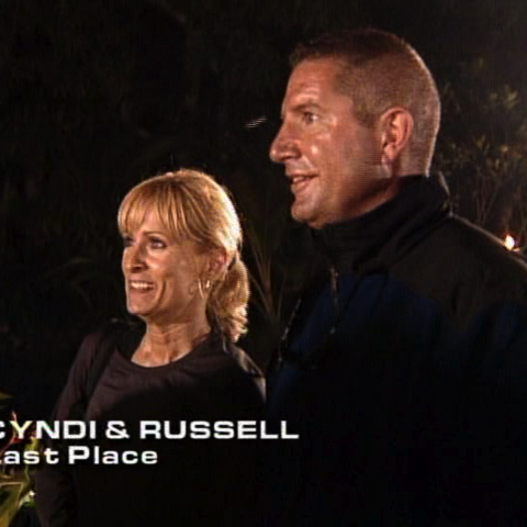 Cyndi & Russell were eliminated from the race in 7th place.
