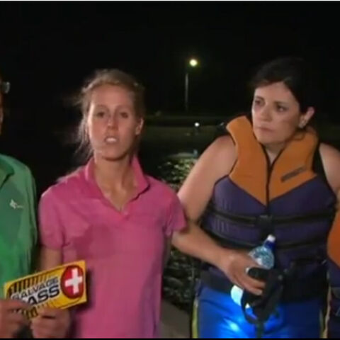 Ross & Tarryn use their Salvage Pass to save Lucy & Emilia from Elimination.