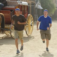 Danny & Tim heading toward the <a href=