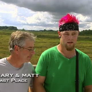 Gary & Matt were eliminated from the race in 5th Place.