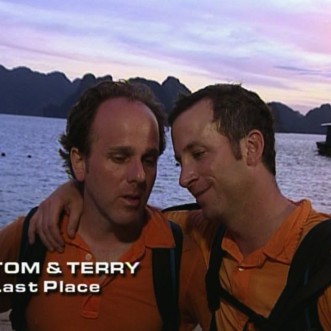 Tom & Terry were eliminated from the race in 8th Place.