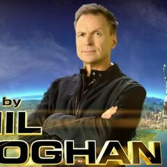 Phil Keoghan in the Opening credits.