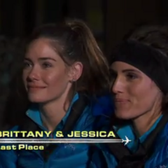 Jessica & Brittany are eliminated in 9th Place after losing by train.