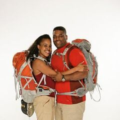 Dana &amp; Adrian's alternate promotional photo for <i>The Amazing Race</i>.