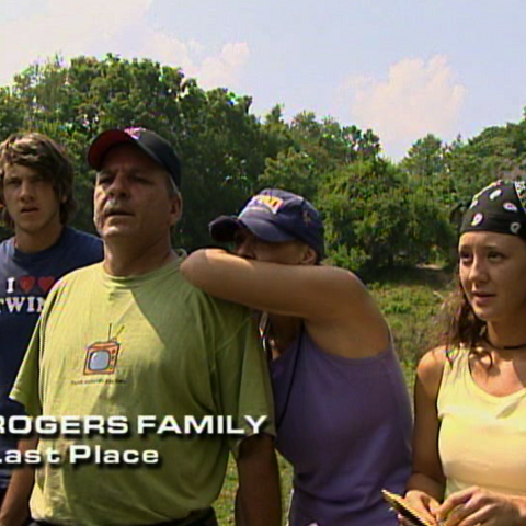 The Rogers were eliminated from the race in 9th place.