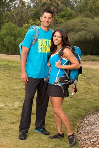 Amazing Race Bates en Anthony dating