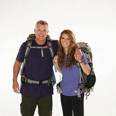 Steve & Allie's alternate promotional photo for <i>The Amazing Race</i>.