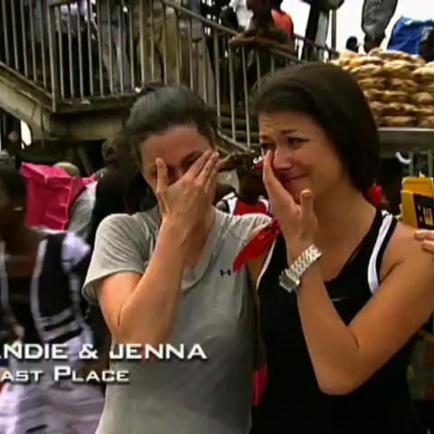 Andie & Jenna were eliminated from the race in 10th Place.