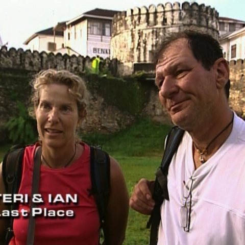 Teri & Ian were eliminated from the race in 7th Place.