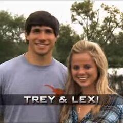 Trey & Lexi's opening pose.